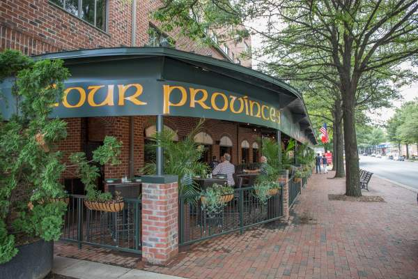 Four Provinces Restaurant in East Falls Church Arlington