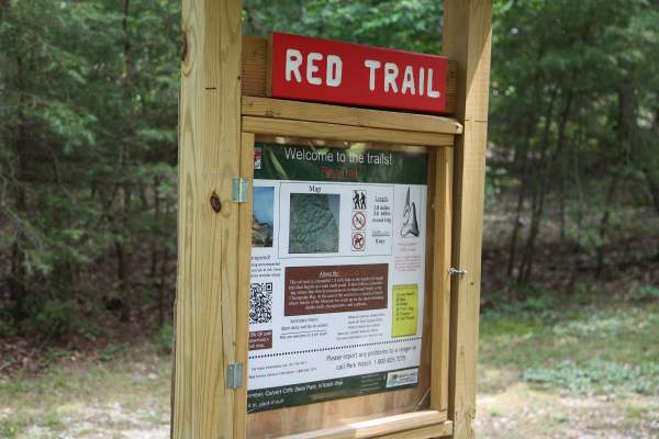 Red Trail in Calvert County's Lusby, MD