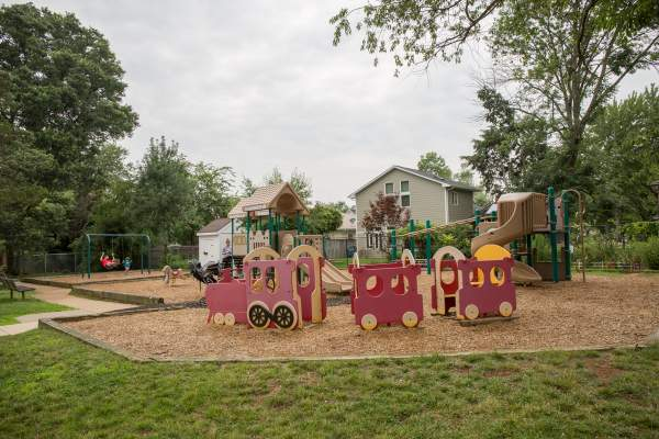 Glencarlyn Neighborhood Playground in Arlington, Virginia