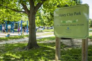 Henry Clay Park in Clarendon Arlington VA