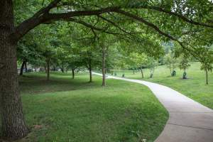 Forest Hills Walking Path in Arlington