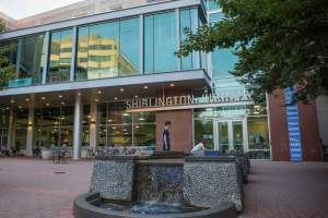 Shirlington Library in Arlington VA