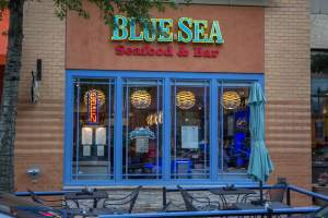Blue Sea Seafood & Bar in Shirlington Virginia