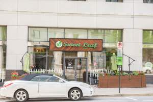 Sweet Leaf Restaurant in Arlington's Courthouse Neighborhood