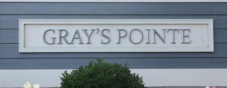 Homes for Sale in Gray's Pointe
