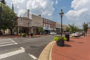 Caroline Street in Fredericksburg, VA