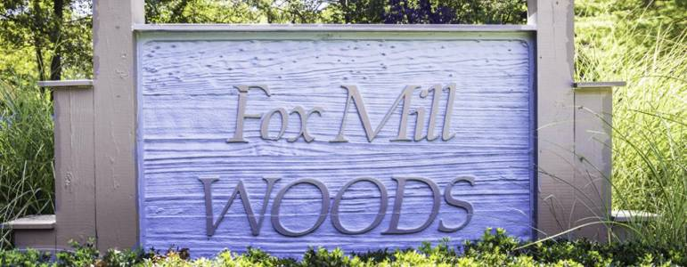 Homes for Sale in Fox Mill Woods