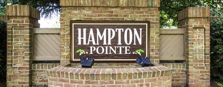 Homes for Sale in Hampton Pointe