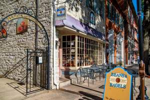 Beans & Bagels in Downtown Frederick, MD