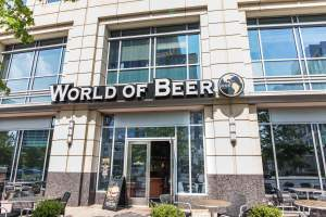 World of Beer in Arlington, VA