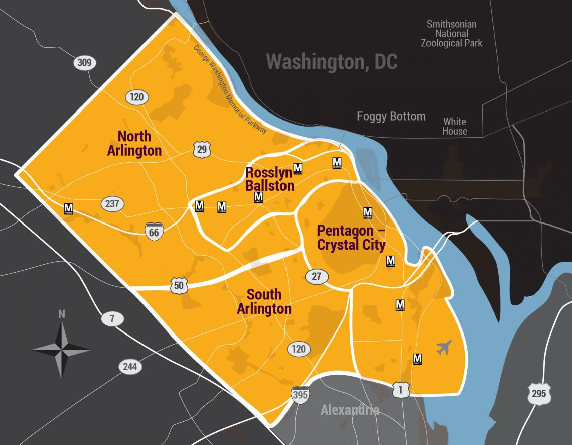 Arlington County, VA Real Estate