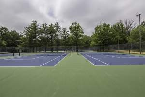 Mason District Tennis Courts in Annandale, VA.
