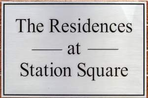 Station Square Sign