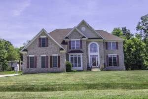 Home for sale on Oak Leaf Drive in Mt. Vernon, VA.