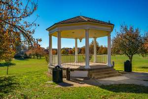 Baker Park Gazebo in Frederick, MD