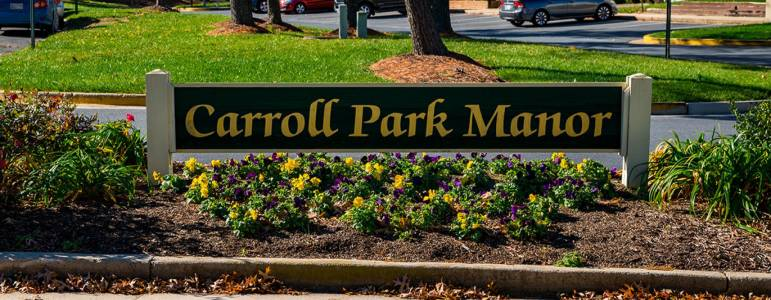 Homes for Sale in Carroll Park Manor