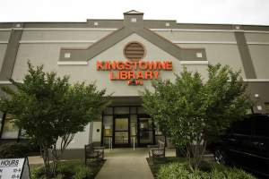 Kingstowne Library in Kingstowne, VA.