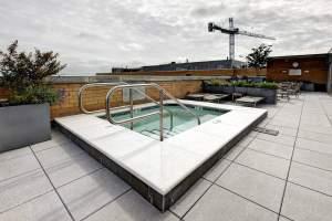 K at City Vista Hot Tub