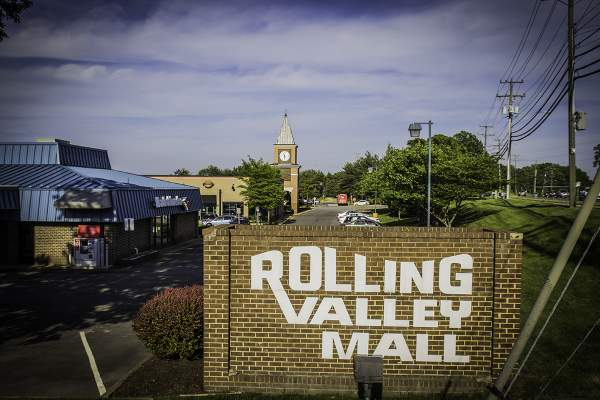Rolling Valley Mall in Burke, VA.
