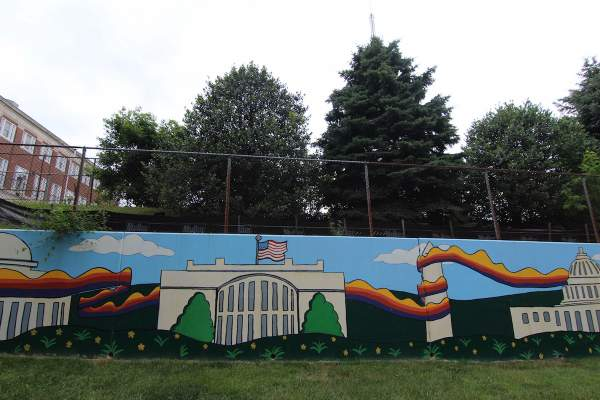 Street Art in Washington DC's Brightwood/Manor Park Neighborhood