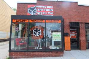 Graphic Box Tattoo Shop in Brightwood/Manor Park