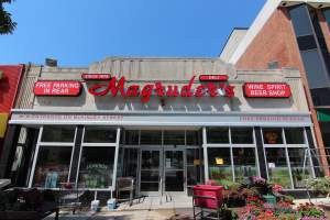 Magruder's Market in Washington DC's Chevy Chase Neighborhood