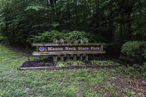 Mason Neck Park in Lorton, VA