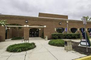 Lorton Public Library in Lorton, VA.