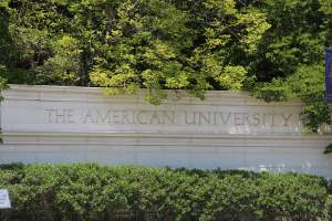 American University in Washington DC's Spring Valley