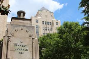 The Kennedy Warren Apartments in Woodley Park