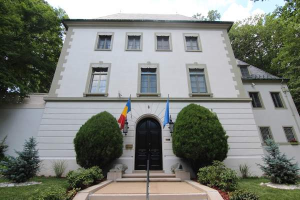 Embassy in Washington DC's Observatory Park
