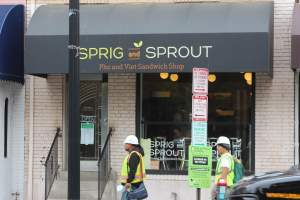Sprig and Sprout Restaurant in Washington, DC's Glover Park