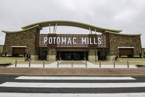 Potomac Mills Shopping Mall in Woodbridge, VA.