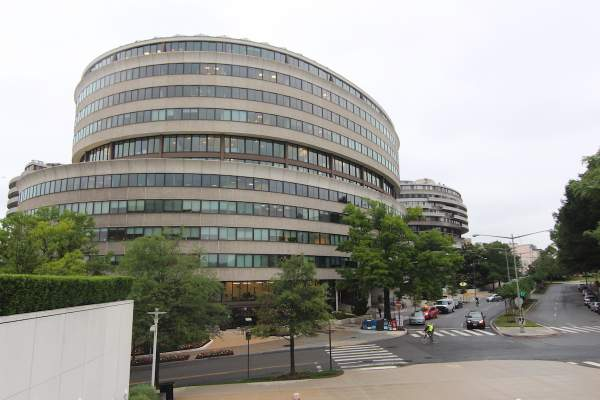 Watergate Complex in Washington DC's Foggy Bottom Neighborhood