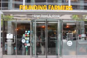 Founding Farmers Food Market in Foggy Bottom