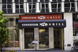 Stonefish Grill in Downtown Washington, DC.