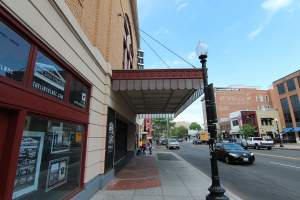 The Lincoln Theatre in Washington DC's U Street Corridor