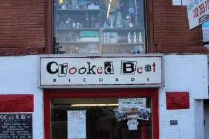 """Crooked Beat Records"" in Washington DC's Adams Morgan"
