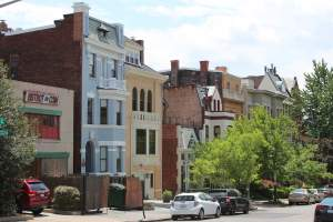 Kalorama Neighborhood in Washington, DC.