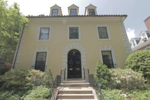 Colonial Mansion in Washington DC's Kalorama Neighborhood