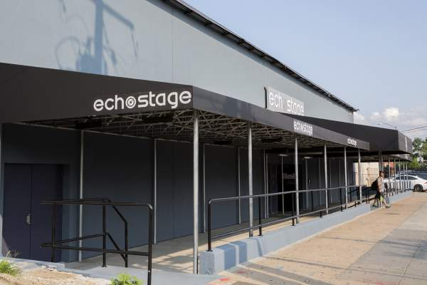 Echo Stage in Washington DC's Brentwood Neighborhood