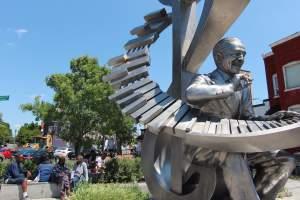 Ledroit Park Statue