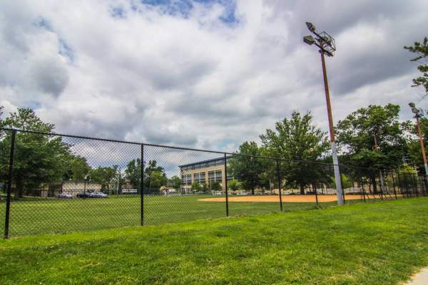 Baseball Field in Washington DC's Shaw Neighborhood