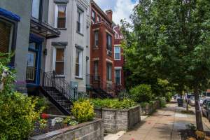 Washington DC's Shaw Neighborhood