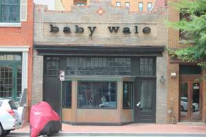 Baby Wale Restaurant in Mt. Vernon Square