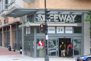 Safeway in Washington DC's Mt. Vernon Square