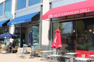 Roti Mediterranean Grill and Tynan Coffee & Tea in NOMA/Eckington