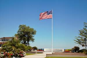 Veterans Memorial in Chesapeake Beach, MD