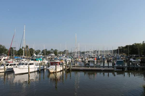 Dockside Restaurant and Sports Bar in Deale, Maryland