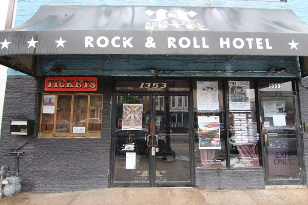 Rock & Roll Hotel in Washington DC's H Street Neighborhood
